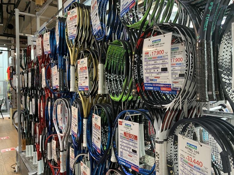 テニスラケットの長さ規程とラケット選び。