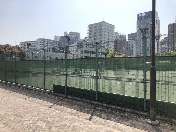 都心部でテニスコートを確保する方法。