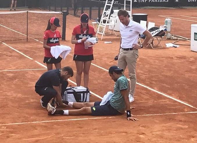 テニスの怪我とその予防法。