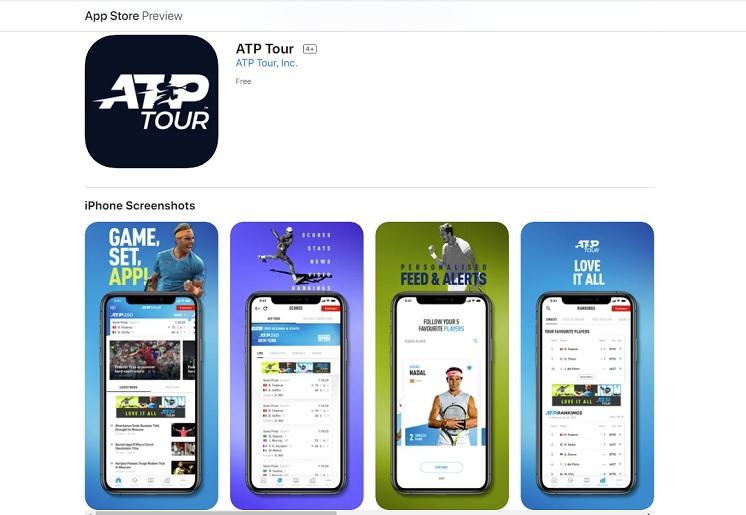 ATPツアーの公式アプリの使い方を解説!