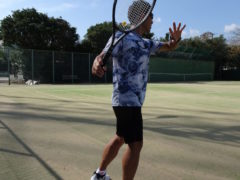テニス馬鹿なの?君は パート3【ウサギとテニスを愛する男編】